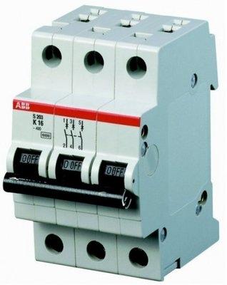 ABB S203-C40 Sicherungsautomat LS-Schalter C 3polig 40A