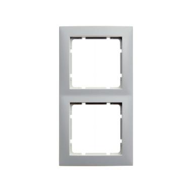 berker 10129909 s1 rahmen 2fach polarwei matt hier g nstig kaufen. Black Bedroom Furniture Sets. Home Design Ideas