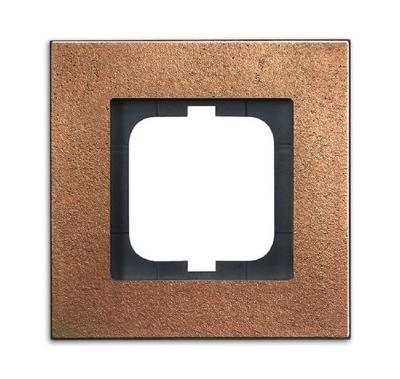 busch jaeger 1721 821 carat rahmen 1fach bronze hier. Black Bedroom Furniture Sets. Home Design Ideas