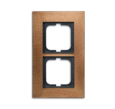busch jaeger 1722 821 carat rahmen 2fach bronze hier. Black Bedroom Furniture Sets. Home Design Ideas