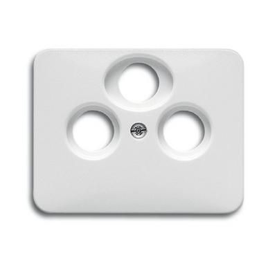 busch jaeger 1743 03 24g alpha antennensteckdose abdeckung alabaster. Black Bedroom Furniture Sets. Home Design Ideas