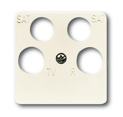 busch jaeger 1743 10 04 212 duro2000 si antennensteckdose abdeckung cremewei. Black Bedroom Furniture Sets. Home Design Ideas