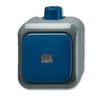 busch jaeger 2601 7wdi duro2000 wdi wippschalter kreuzschalter blau. Black Bedroom Furniture Sets. Home Design Ideas