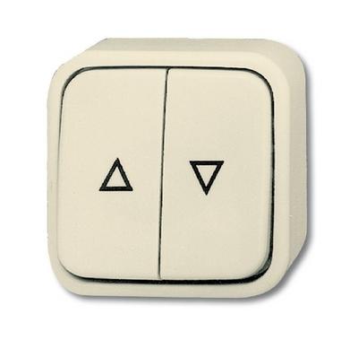 busch jaeger 2621 4ap duro2000 ap jalousieschalter. Black Bedroom Furniture Sets. Home Design Ideas