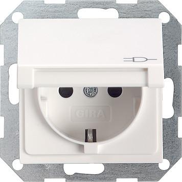 gira 045427 system55 schuko steckdose 16a ohne. Black Bedroom Furniture Sets. Home Design Ideas