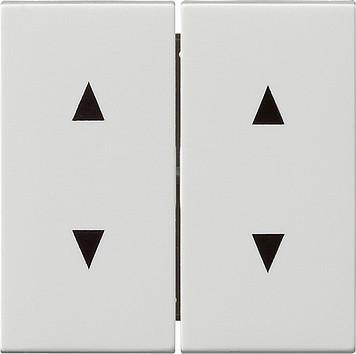 gira 115003 system55 jalousieschalter jalousietaster wippen reinwei glz. Black Bedroom Furniture Sets. Home Design Ideas