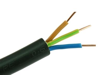 0,66€//m 50m NYY-J 3x1,5 mm² VDE Erdkabel Stromkabel Kabel Leitung Elektroleitung