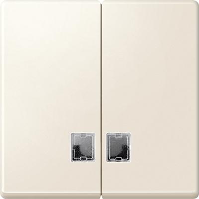 Merten 437544 System M Serienschalter Wippe cremeweiß matt